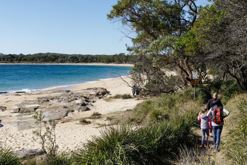 The Sydney suburb of Bundeena NSW