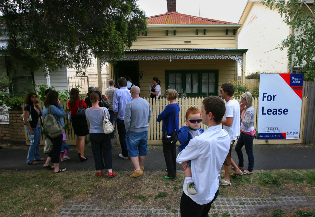 307 Highett st Richmond where a rental open inspection is being held  Pic By Craig Sillitoe  20071031