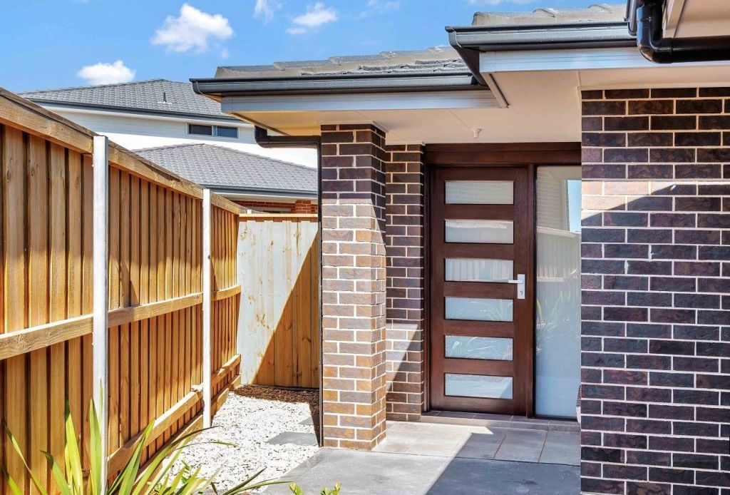 A granny flat with a separate entry can improve privacy.