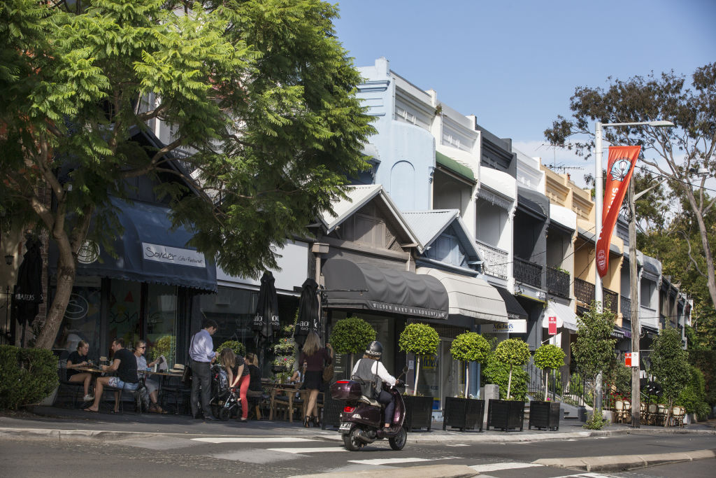The Sydney suburb of Paddington