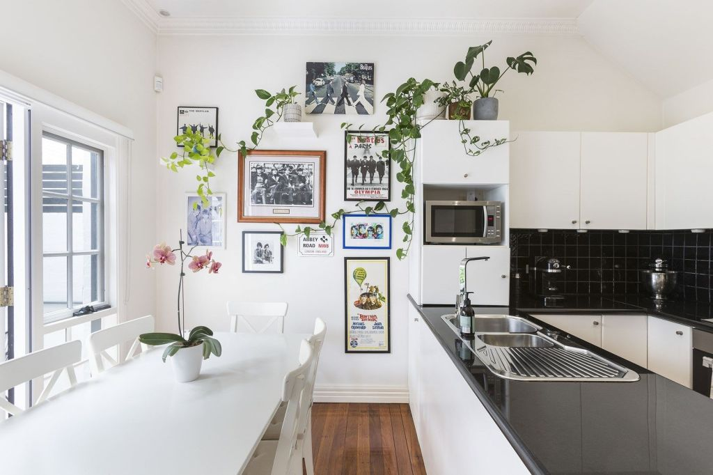 There are simple ways to personalise a rental property such as indoor plants.