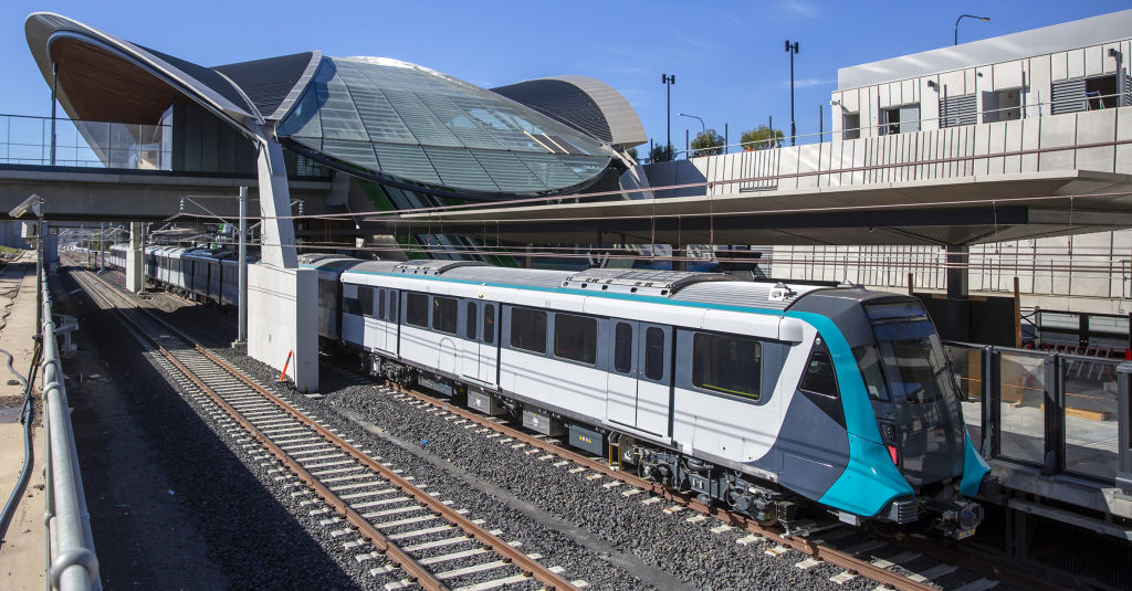 Several high density areas are earmarked along the Sydney Metro line. Photo: NSW Government.