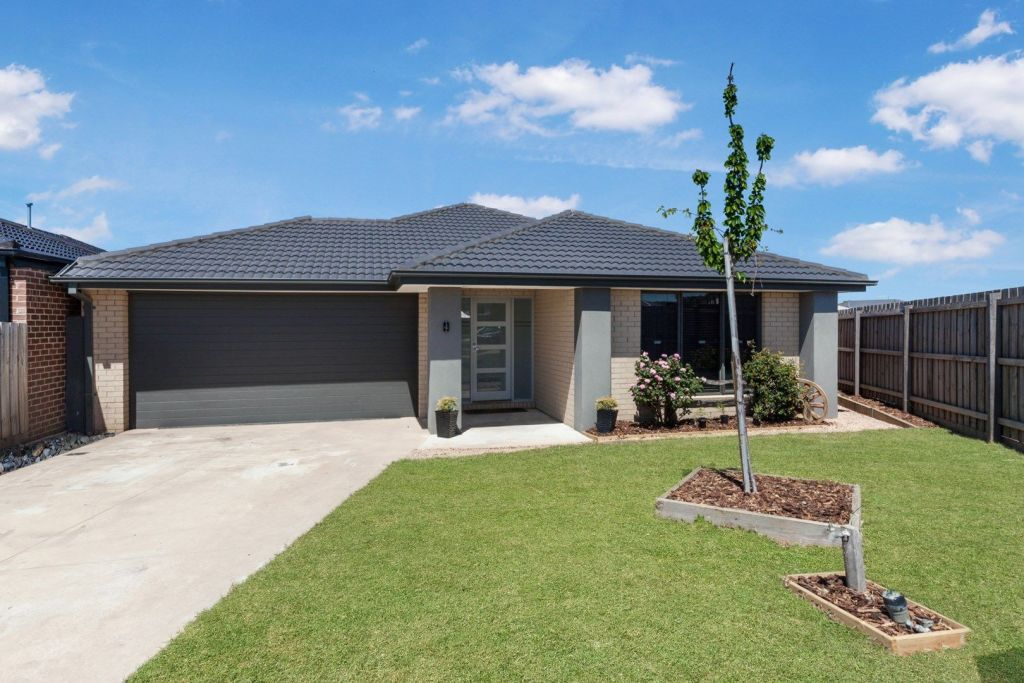 Wallan, in the Mitchell LGA has a median property price of $495,000. This four-bedroom home sold for $520,000 late last year.
