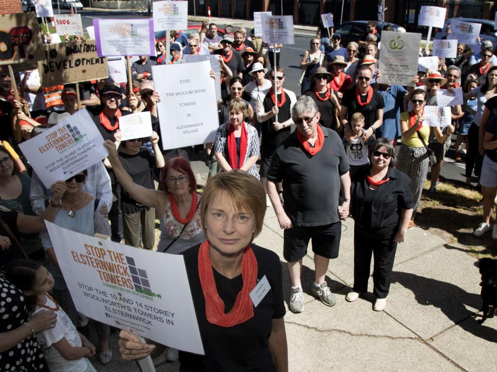 Elsternwick Protest