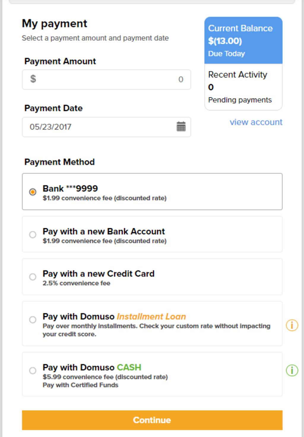 From Domuso.com - renters can pay online, with the option of a loan to cover rent in emergencies.