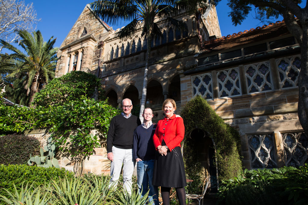 Ann Sherry and Michael Hogan own The Abbey at 272 Johnston Street Annandale