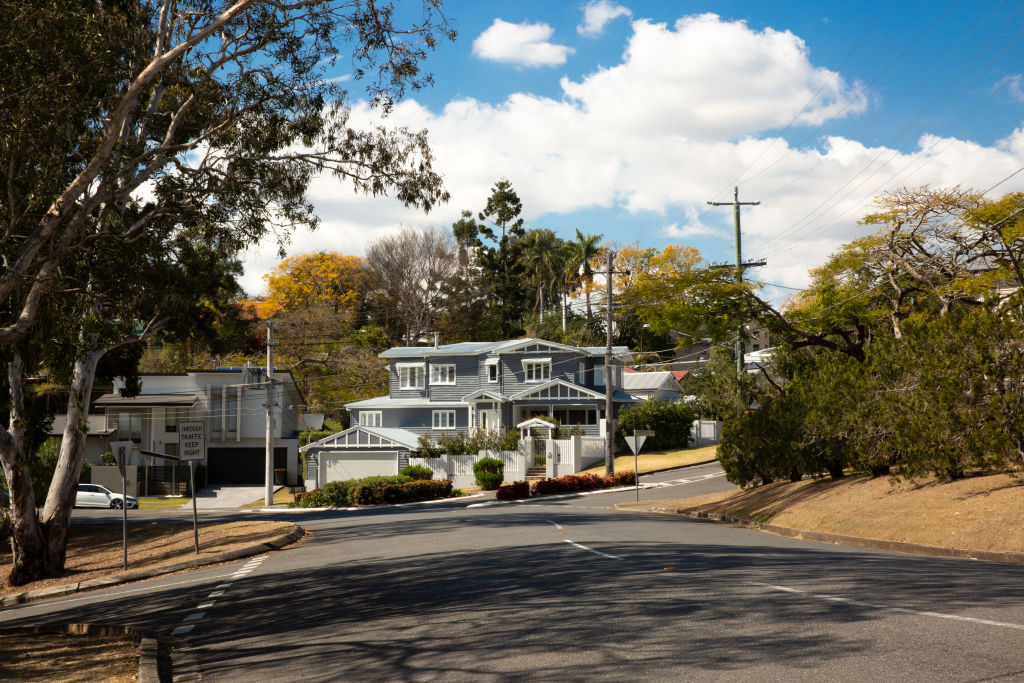 The Brisbane suburb of Ashgrove Photo Tammy Law
