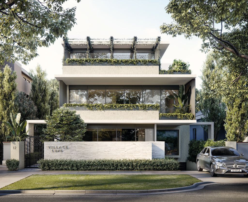 Village Luxe 12 Springfield Avenue, Toorak Architect: MGA Developer: Crampton Dean                                                                                                                                         	 Interior design: MGA with Crampton Dean