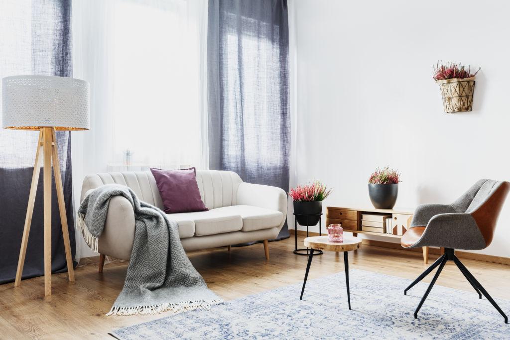 A cute apartment interior