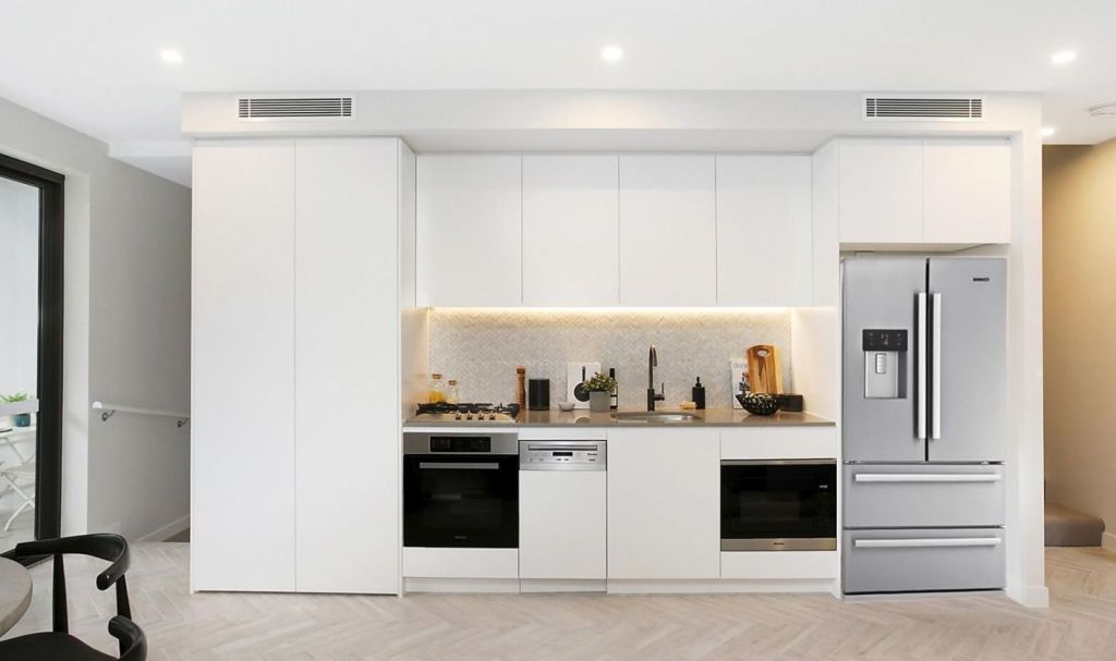 Ovens normally stay, fridges normally go, but dishwashers are often a grey area.