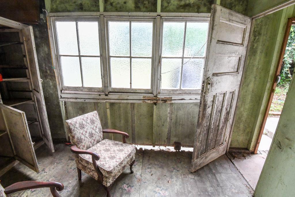 A derelict home in Gladesville
