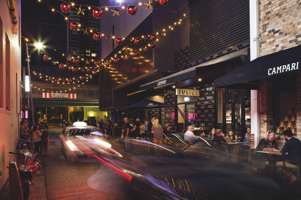 Brisbane's Fish Lane.