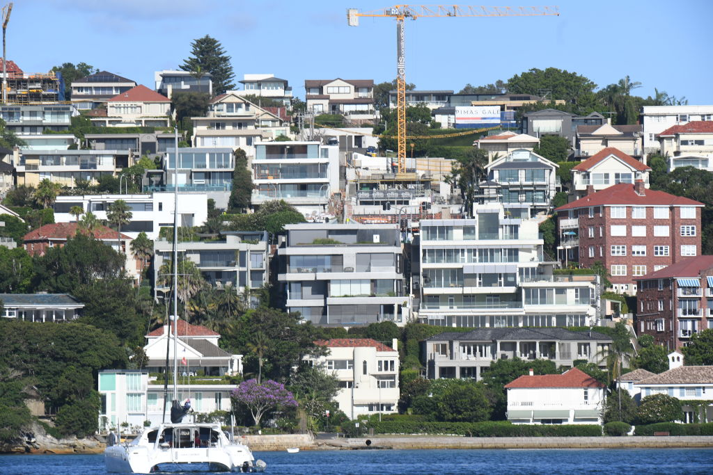 Vaucluse. generic photo by Peter Braig. property, housing, market, wealthy suburb in sydney. 10 march 2019. harbour.