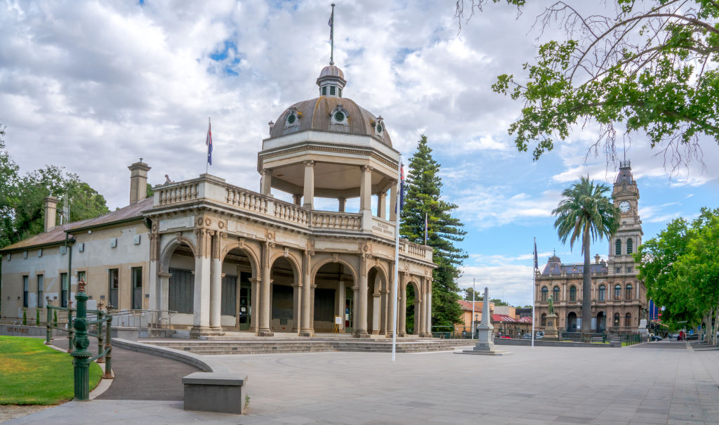 The town of Bendigo