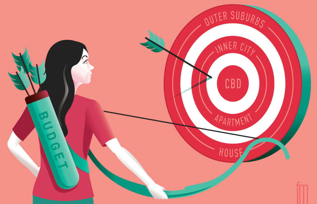 Advice illustration by Frank Maiorana Where to aim