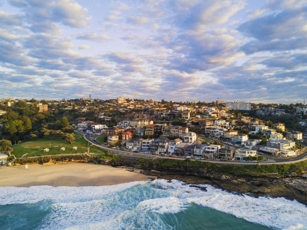 An aerial view of Bronte