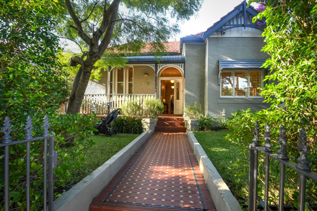 A four-bedroom house at 107 Brighton Street, Petersham, sold for $2.25 million.