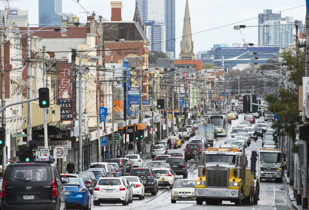Traffic congestion Melbourne