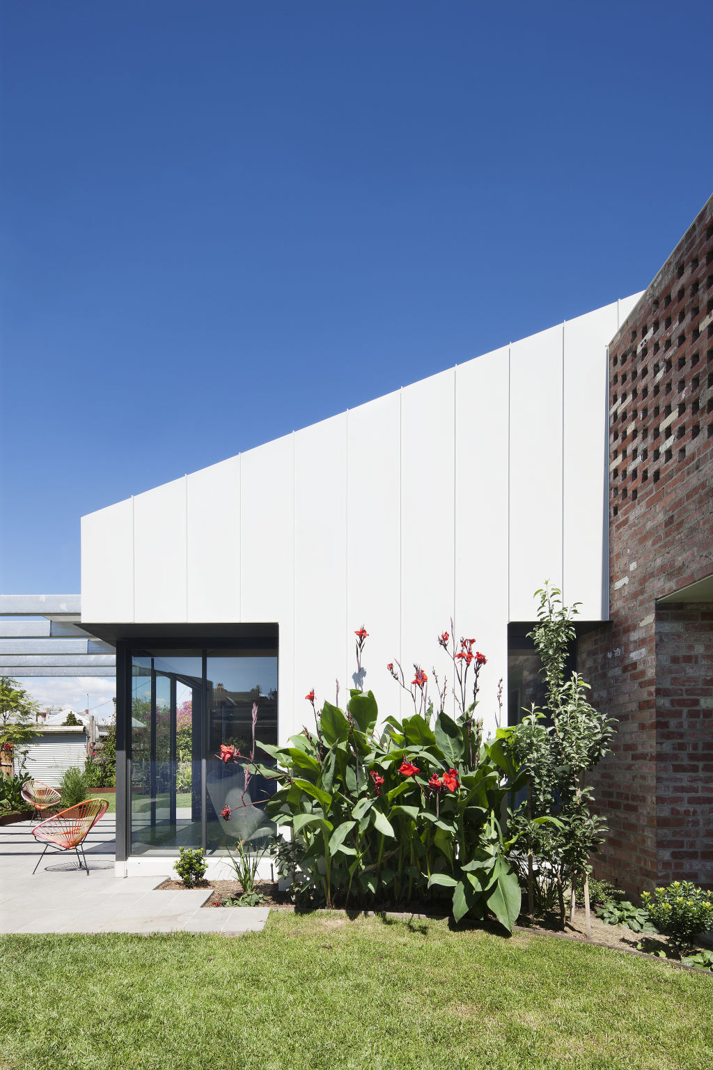 Gable House, North Fitzroy. Design by Clare Cousins Architects.