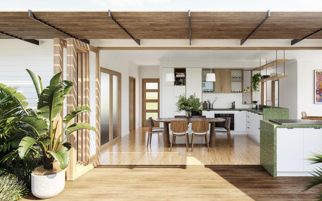 Waratah Garden Room by Ekah Studio