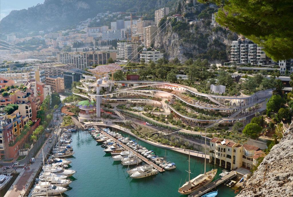 Fontvieille project in Monaco by Studio Fuksas