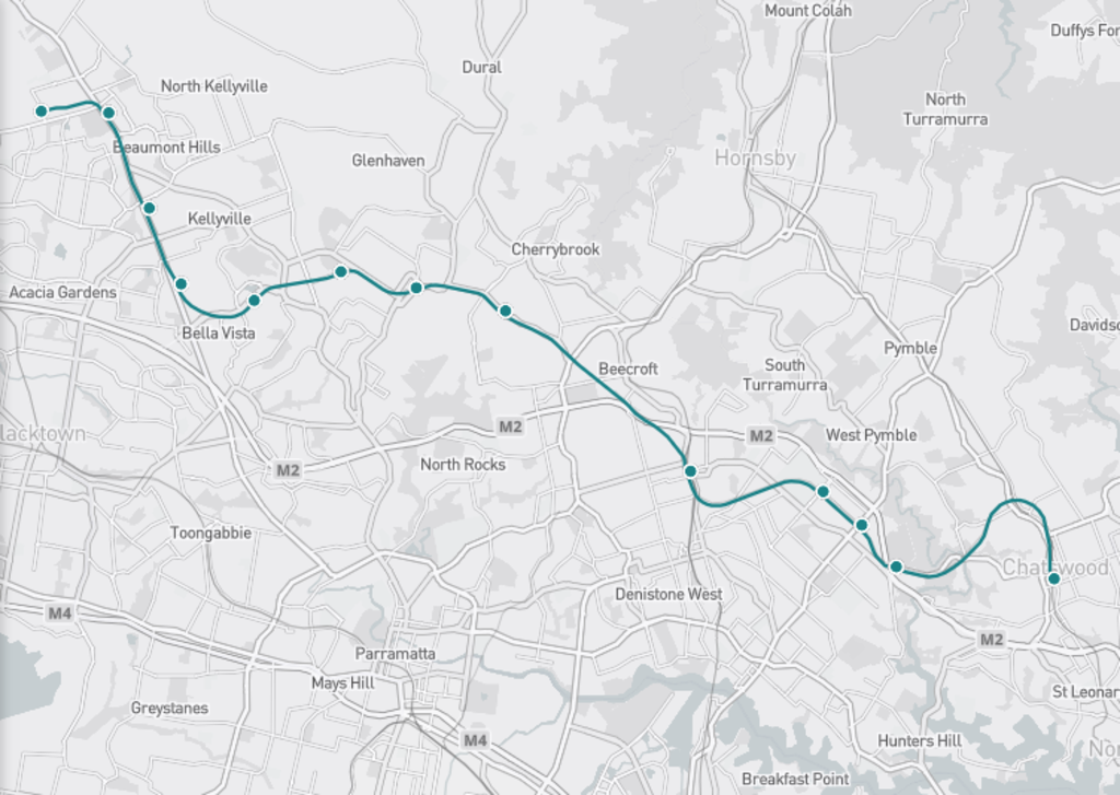 The North West metro will open on May 26.