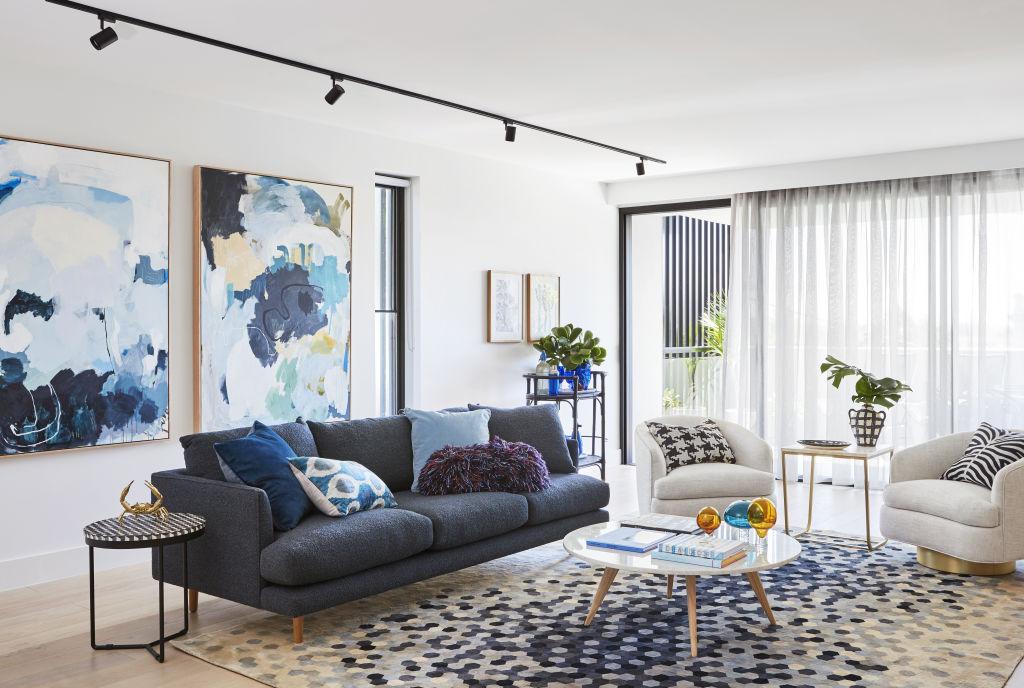 Grandview apartment, styled by Fenton & Fenton.