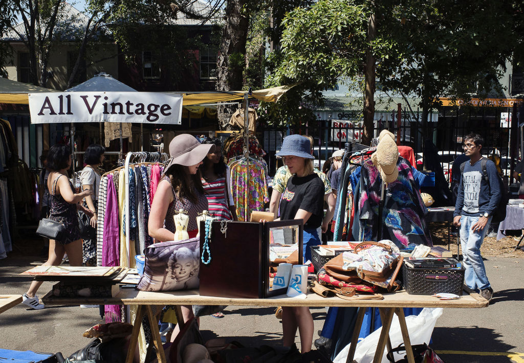 Glebe Saturday Markets in Sydney