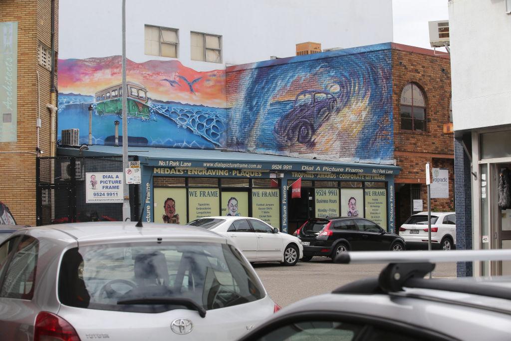 Street art in Caringbah Sydney