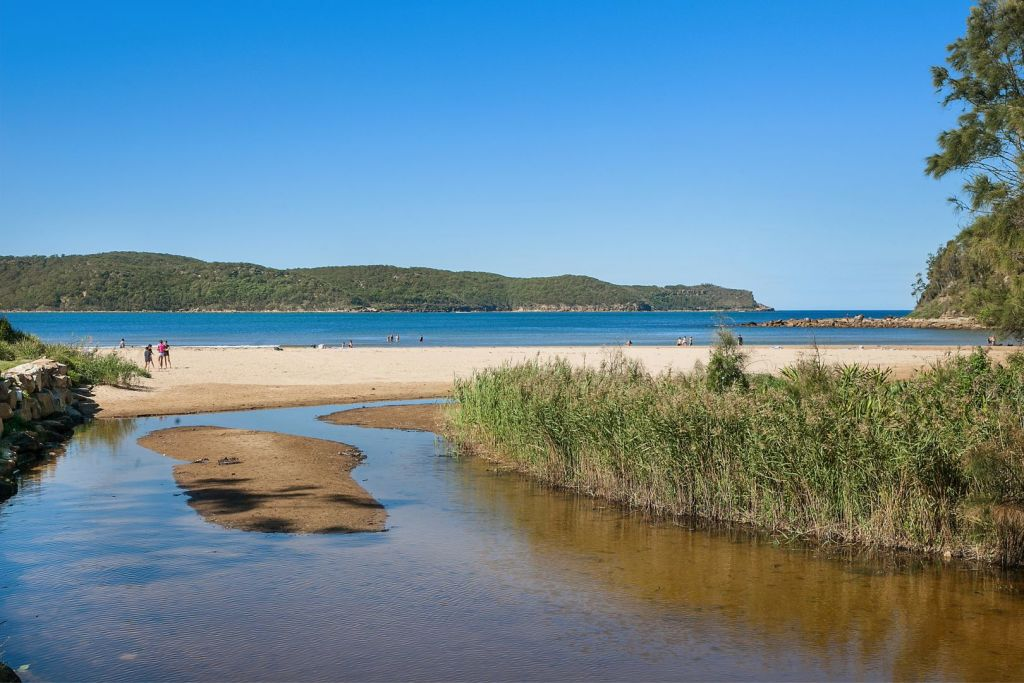 A coastal stretch in the Umina Beach area low res