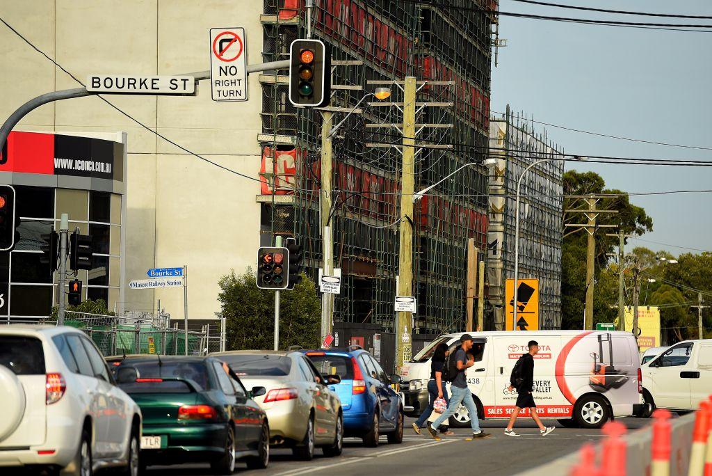 Traffic in Mascot