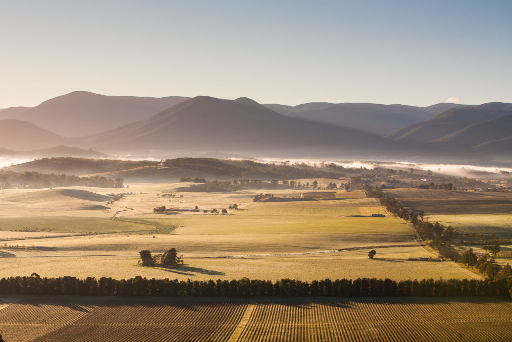 The Yarra Valley is particularly cold in winter.