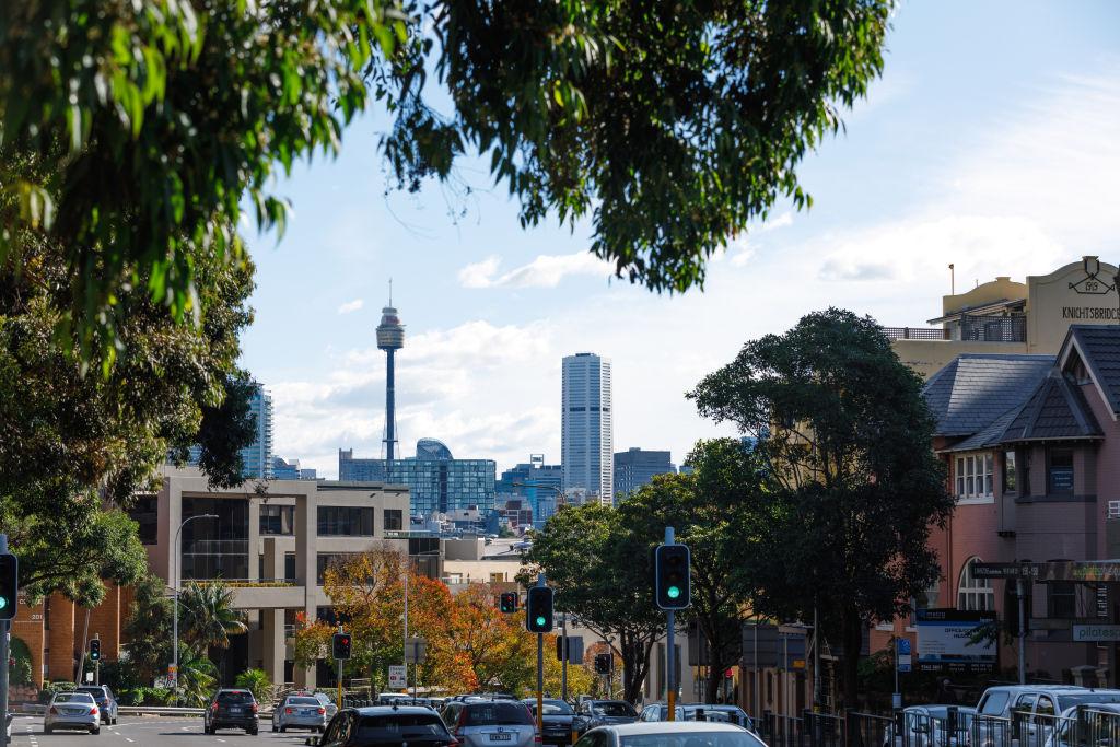Edgecliff in Sydney