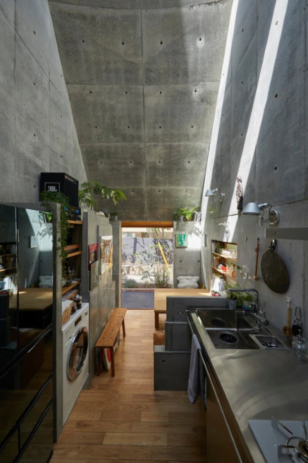 Japanese Architect Designs His Own Perfectly Modern 18 Sqm Tiny House