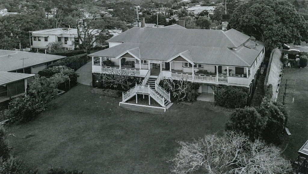 A historic photo of 34 Miskin Street, Toowong.