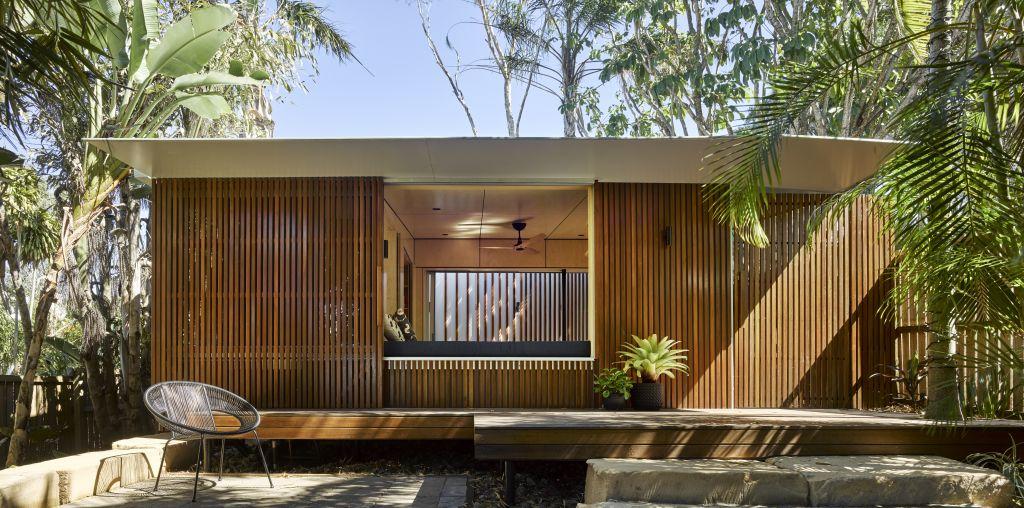 The Garden Bunkie  By Reddog Architects