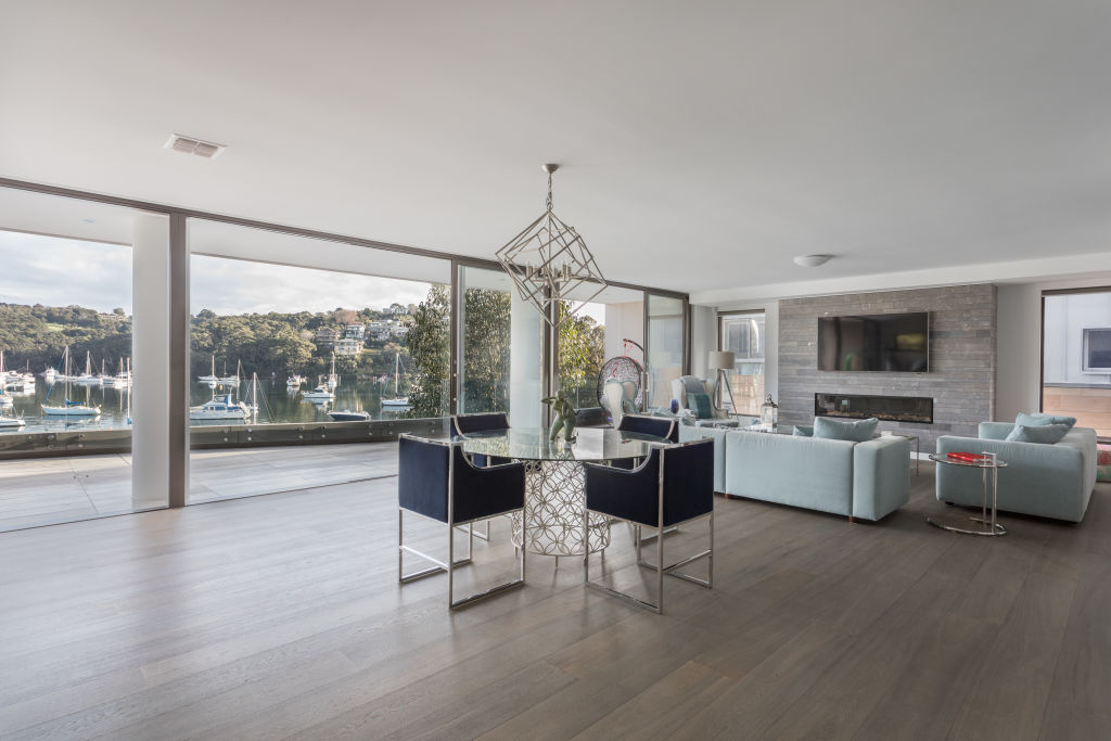 Cassandra Thorburn chose the finishes that completed her Cremorne waterfront residence.