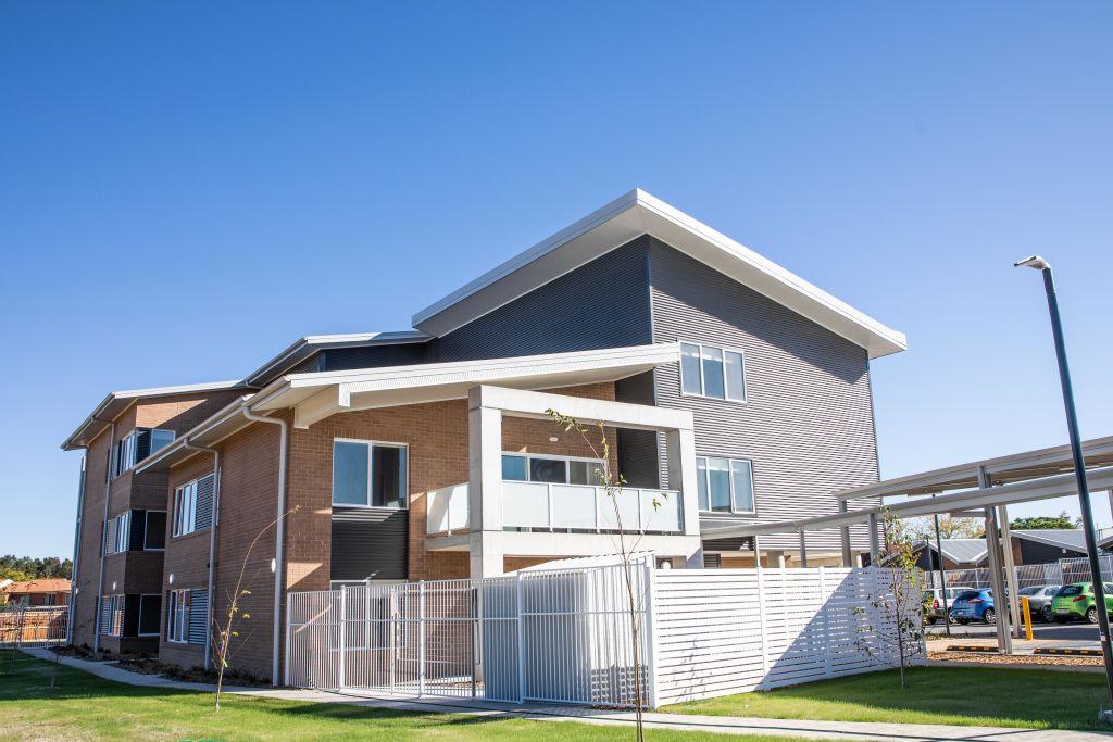 New public housing in Monash