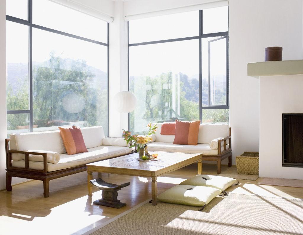 Generic sunny living room
