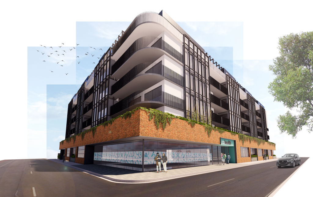 The new design of 365 Hoddle Street