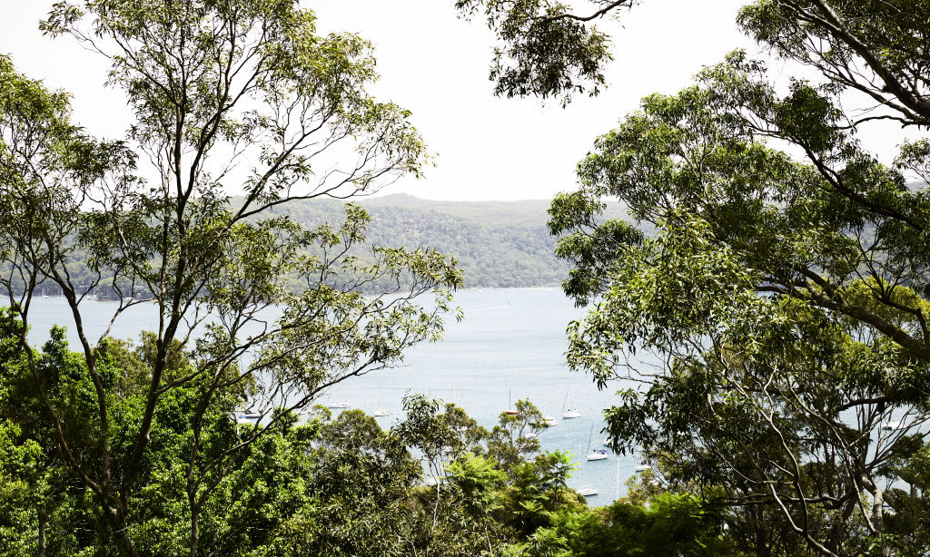 A gorgeous view across Pittwater. Styling: Annie Portelli.