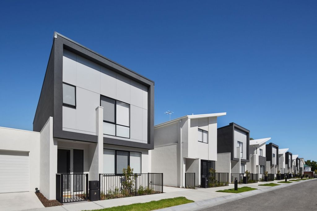 Low maintenance townhouses appeal to young couples, empty nesters and investors alike.