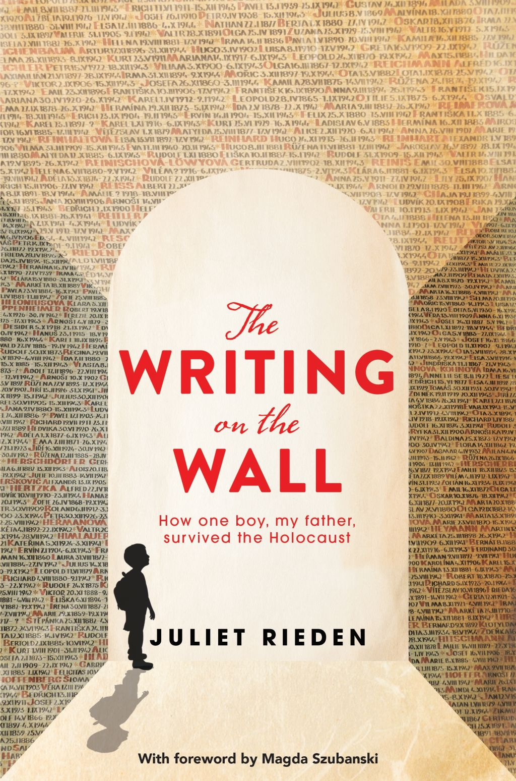 The Writing on the Wall by Juliet Riden.