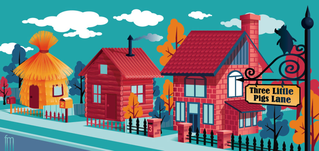 Forever home illustration by Frank Maiorana NOT FOR REUSE