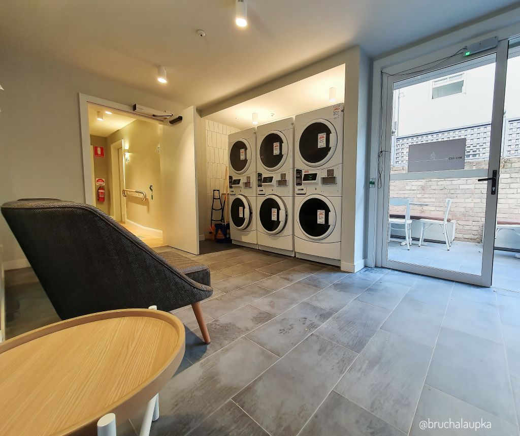UKO's Paddington facilities come with a shared laundry.