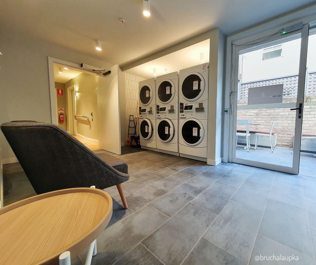 UKO's Paddington facilities come with a shared laundry.