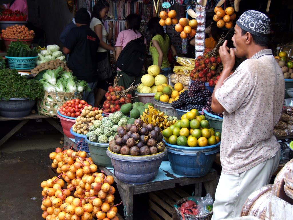 Ubud markets, Ubud, Bali.