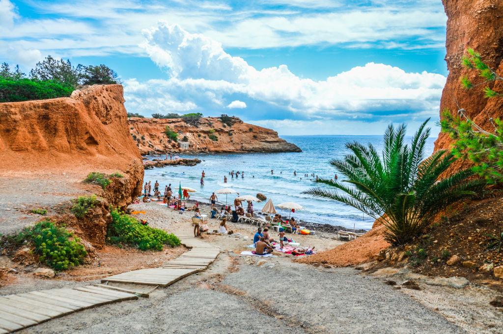 Cala de Sant Vincent in Ibiza