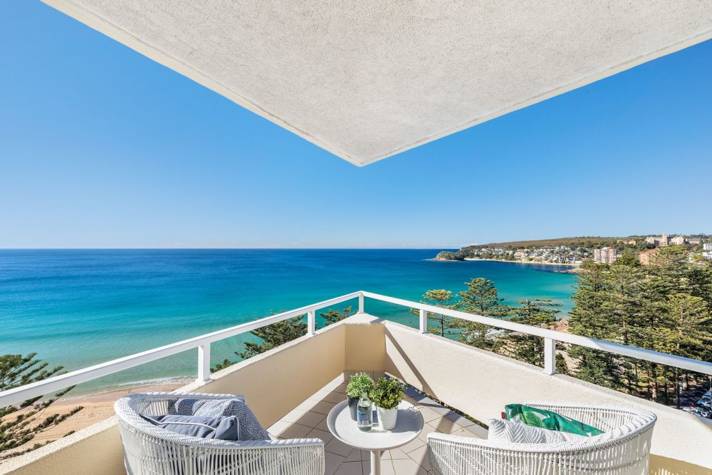 The weekend's highest auction amount was fetched by 41/62-65 North Steyne, Manly, at $4.55 million.