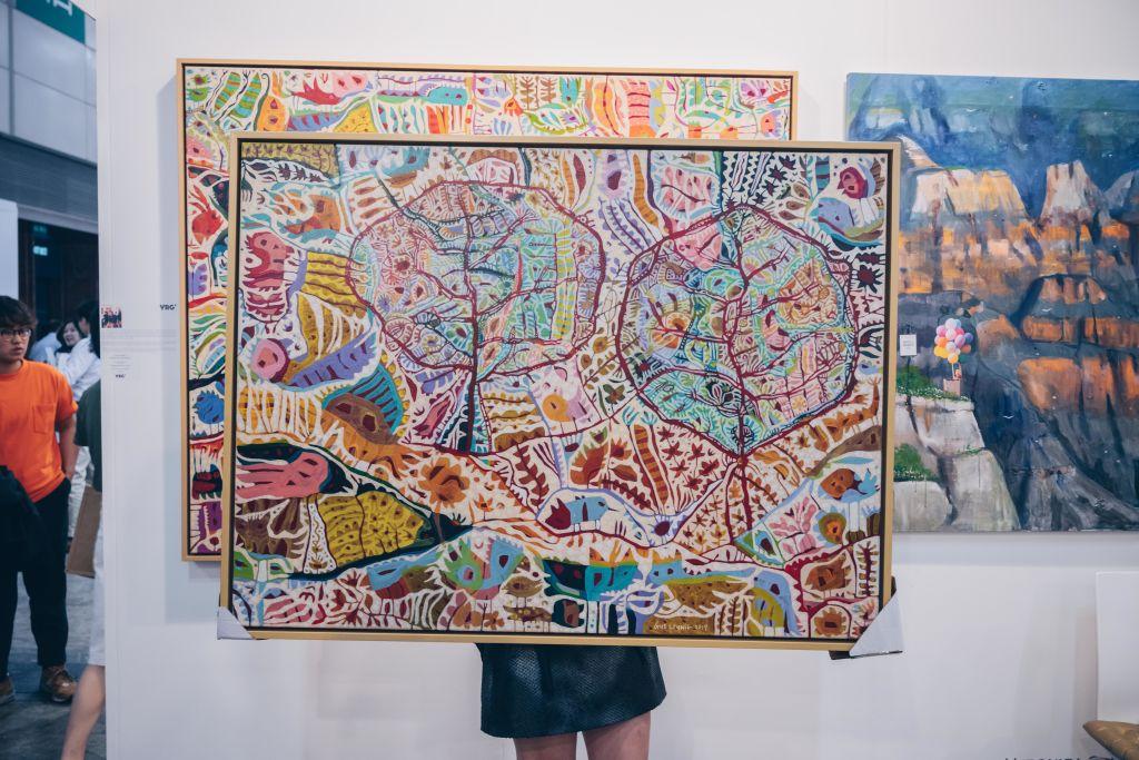 Affordable art at the Van Rensburg Gallery.